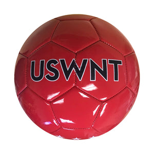 U.S. Soccer USWNT Brush Stroked Size 5 Soccer Ball - Red by Icon Sports