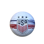 U.S. Soccer USWNT Brush Stroked Size 2 Mini Skill Ball - White by Icon Sports