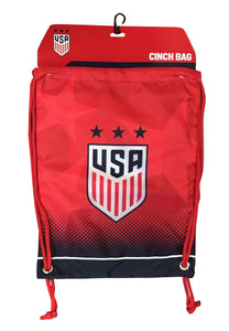 U.S. Soccer USWNT Drawstring Cinch Bag by Icon Sports