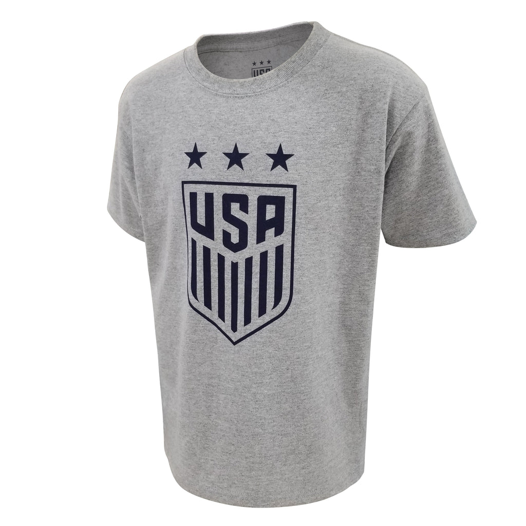 U.S. SOCCER USWNT YOUTH LOGO COTTON TEE