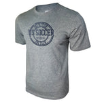U.S. Soccer Stamped Logo Unisex Bi-Blend Tee by Icon Sports