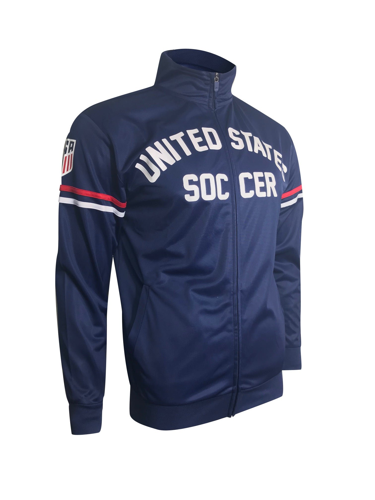 U.S. Soccer Adult Full-Zip Track Jacket by Icon Sports