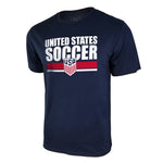 United States Soccer Bi-Blend Tee by Icon Sports