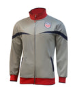 U.S. Soccer Men's Full-Zip Track Jacket by Icon Sports