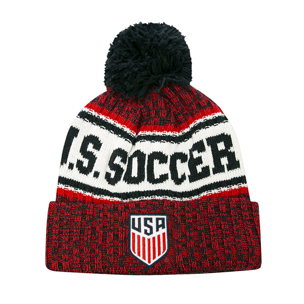 USMNT Youth Crowned Pom Beanie by Icon Sports