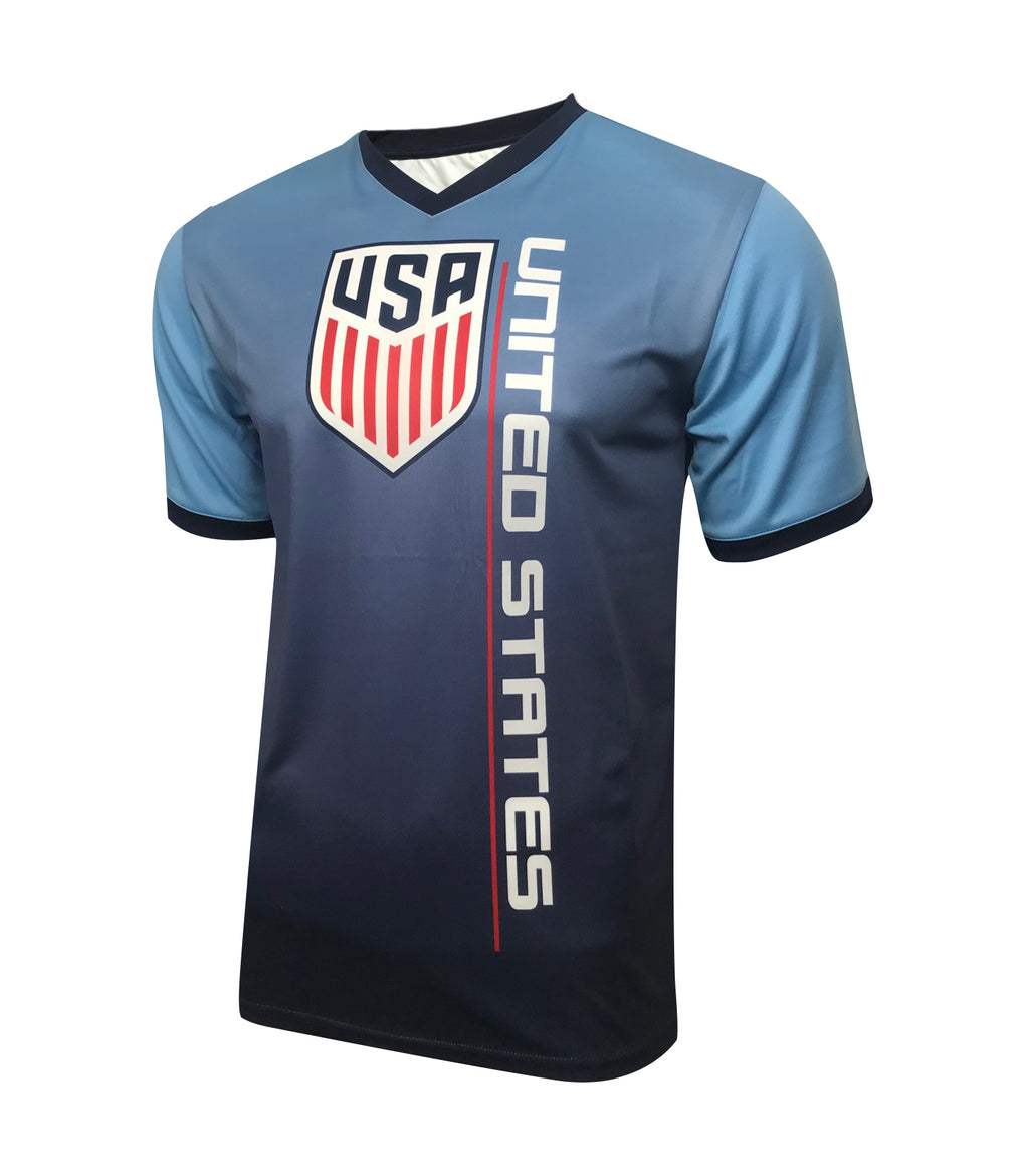 U.S. Soccer Men's Sublimated Training Class Shirt by Icon Sports