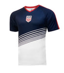 U.S. Soccer Men's Sublimated Stadium Class Polyshirt