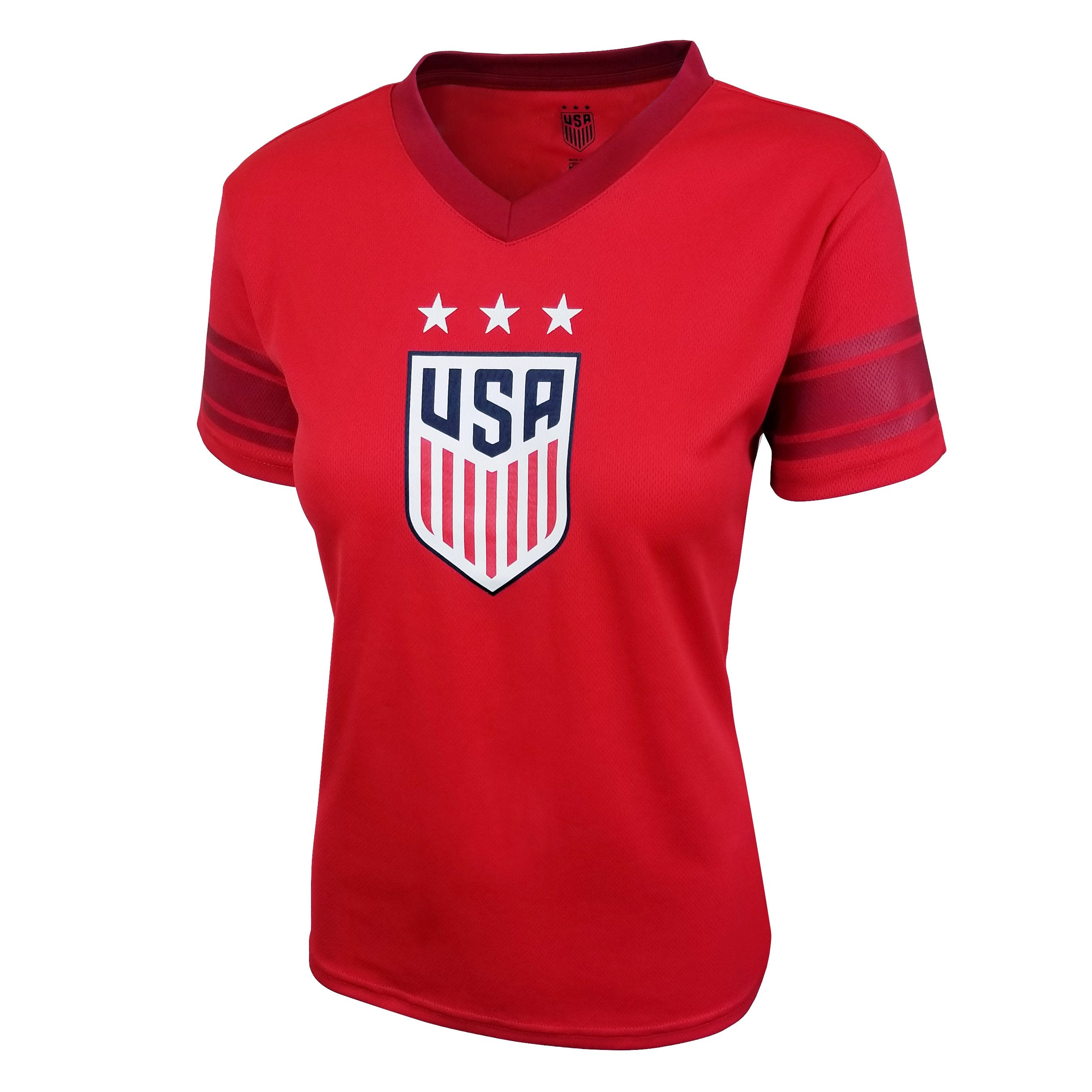 U.S. Soccer Julie Ertz Women's Polymesh Football Tee