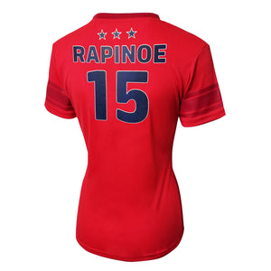 U.S. Soccer Megan Rapinoe Women's Polymesh Football Tee by Icon Sports