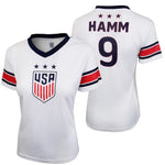 U.S. Soccer Mia Hamm Women's Polymesh Football Tee by Icon Sports