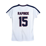USWNTPA Megan Rapinoe Girl's Game Shirt by Icon Sports