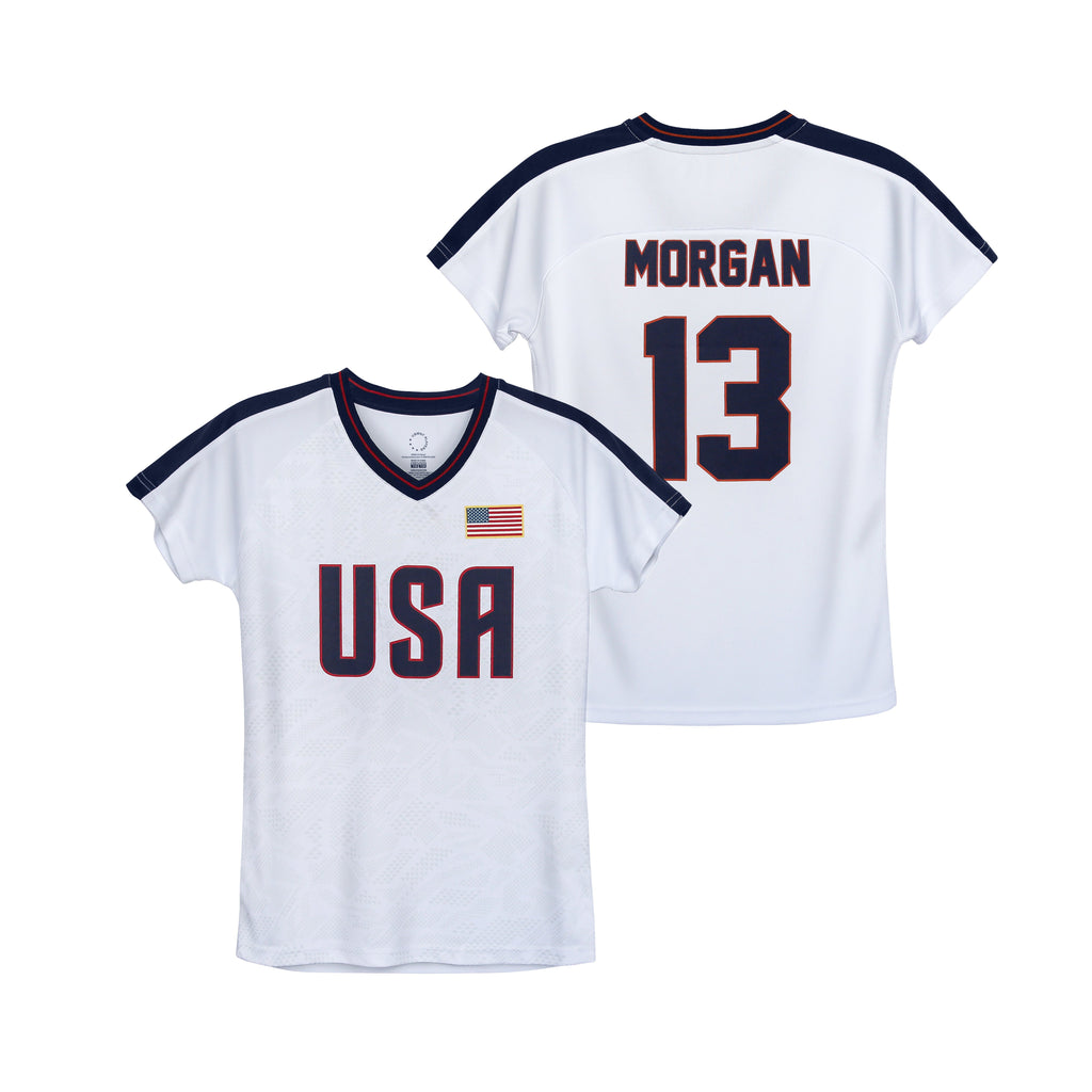 USWNTPA Alex Morgan Girl's Game Day Shirt by Icon Sports