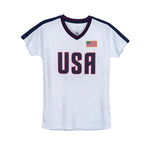 USWNTPA Alex Morgan Girl's Game Shirt by Icon Sports