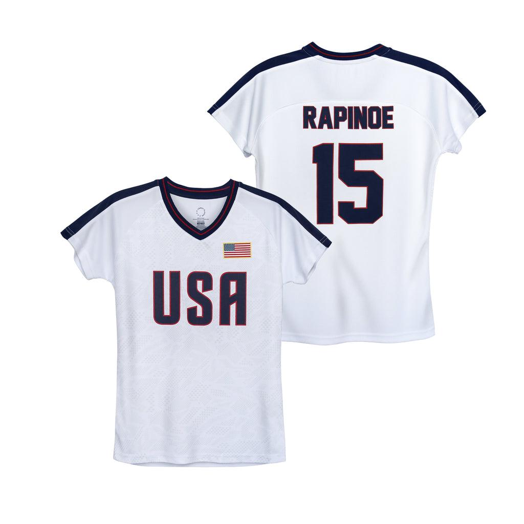 USWNTPA Megan Rapinoe Girl's Game Day Shirt by Icon Sports
