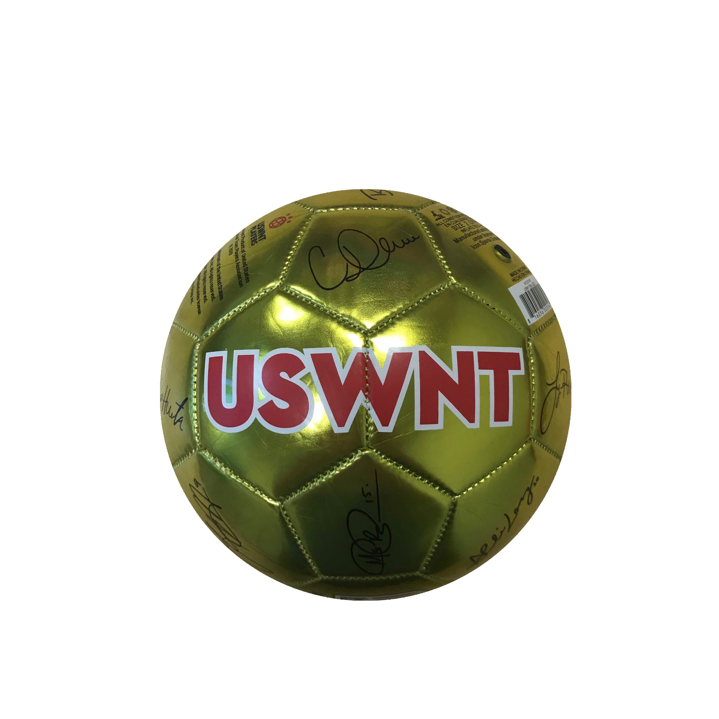 U.S. Soccer USWNT Player Signature Size 2 Mini Skill Ball by Icon Sports