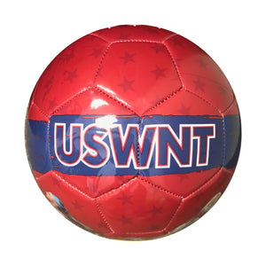 USWNT Size 5 Graphic Players Soccer Ball - Red by Icon Sports