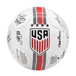 U.S. Soccer USWNT Player Signature Size 5 Soccer Ball by Icon Sports