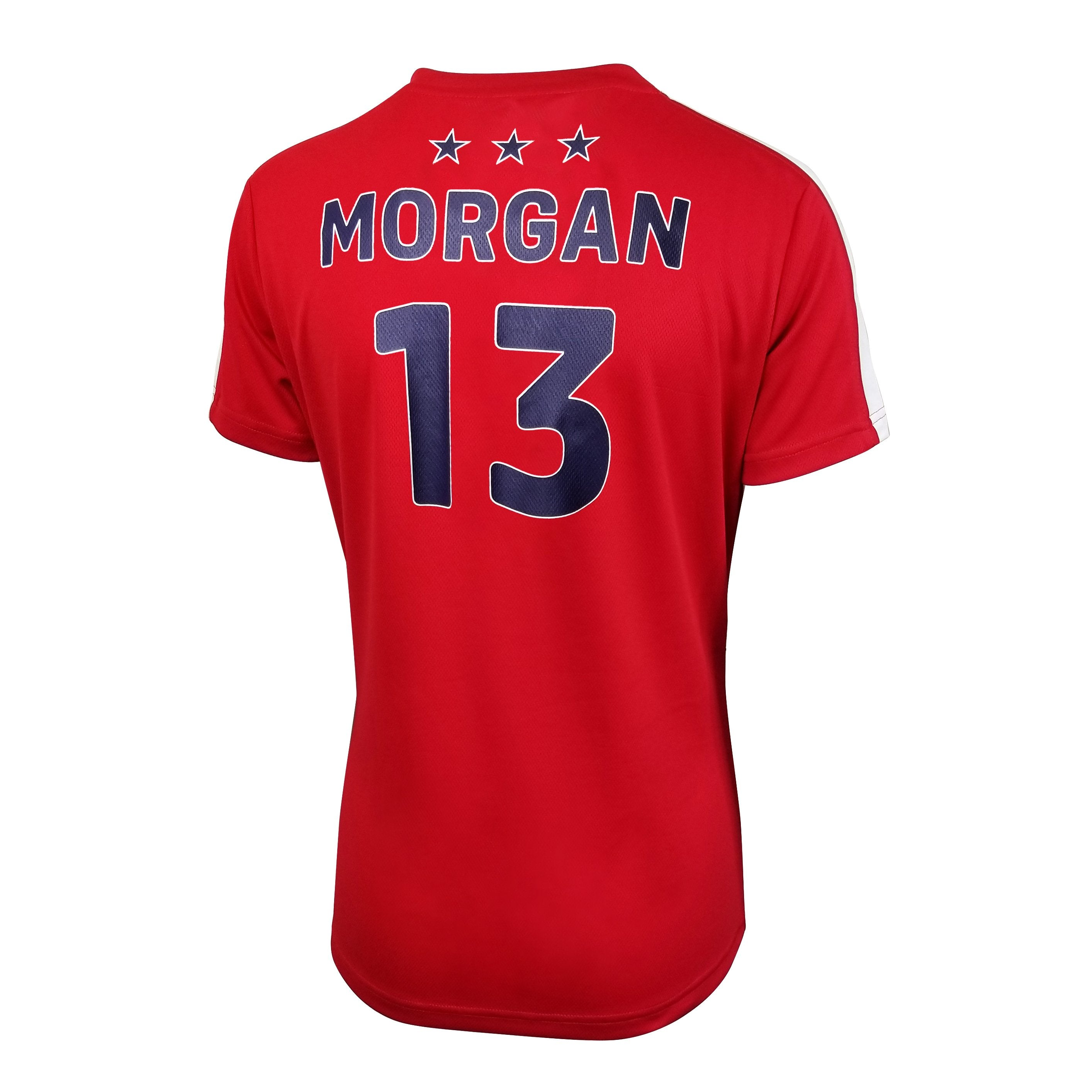 U.S. SOCCER ALEX MORGAN WOMEN'S STADIUM POLYMESH TEE