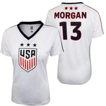 U.S. Soccer Alex Morgan Women's Polymesh Game Day Shirt by Icon Sports