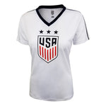 U.S. Soccer USWNT Ladies Polymesh Stadium Tee by Icon Sports