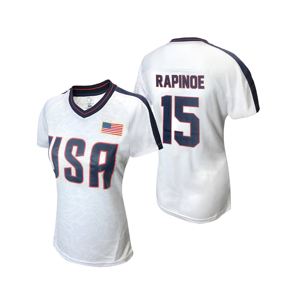 USWNTPA Megan Rapinoe Women's Game Shirt by Icon Sports