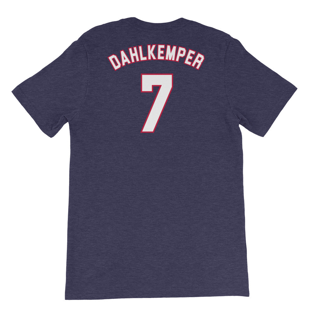 Abby Dahlkemper USWNT 4 Star T-Shirt by Icon Sports