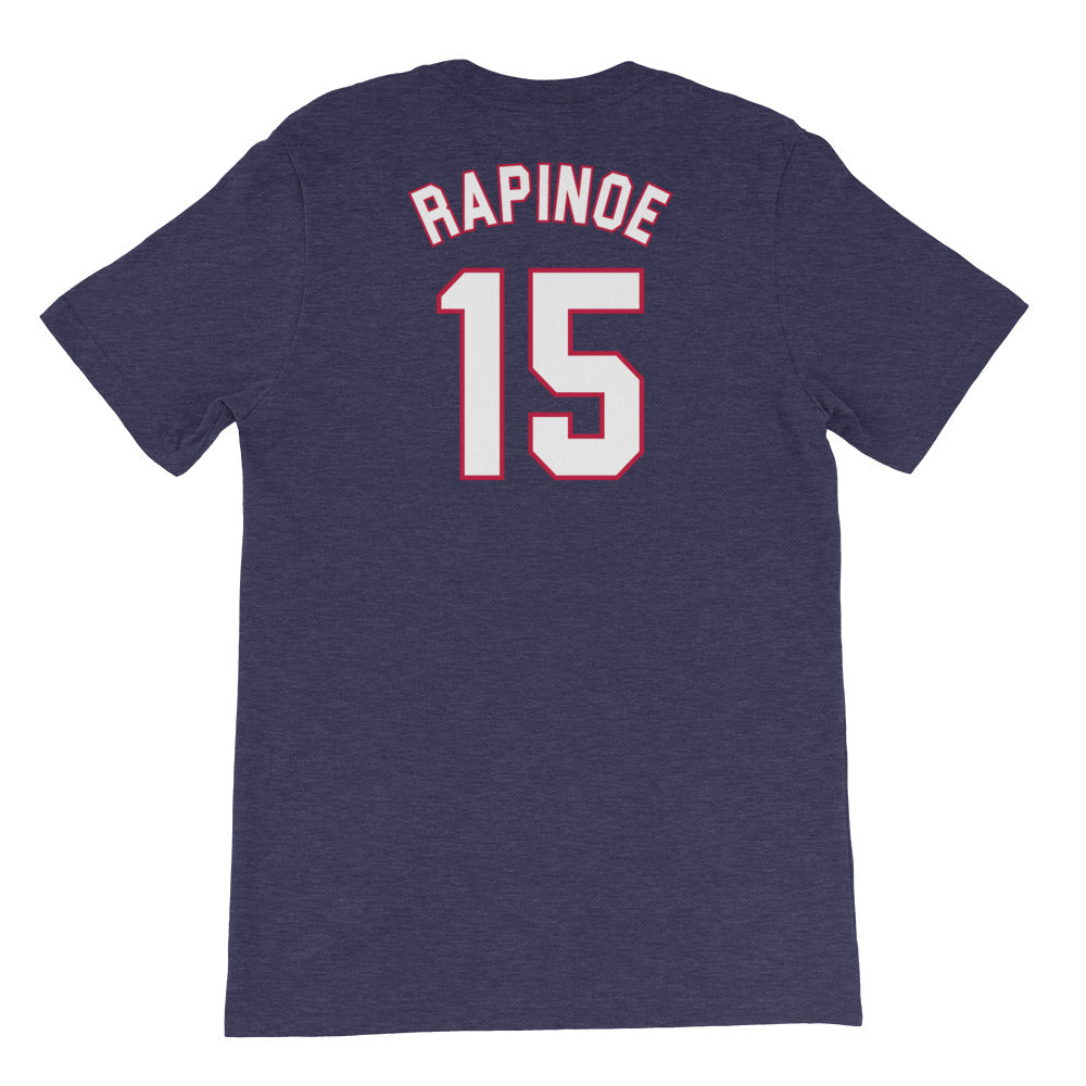 Megan Rapinoe USWNT 4 Star T-Shirt by Icon Sports