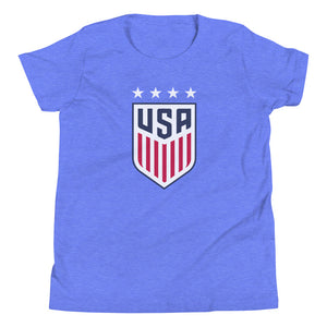 Ali Krieger Youth USWNT 4 Star T-Shirt by Icon Sports