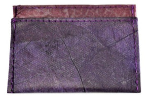 Two Slot Cardholder with central compartment  - Lanna Collection