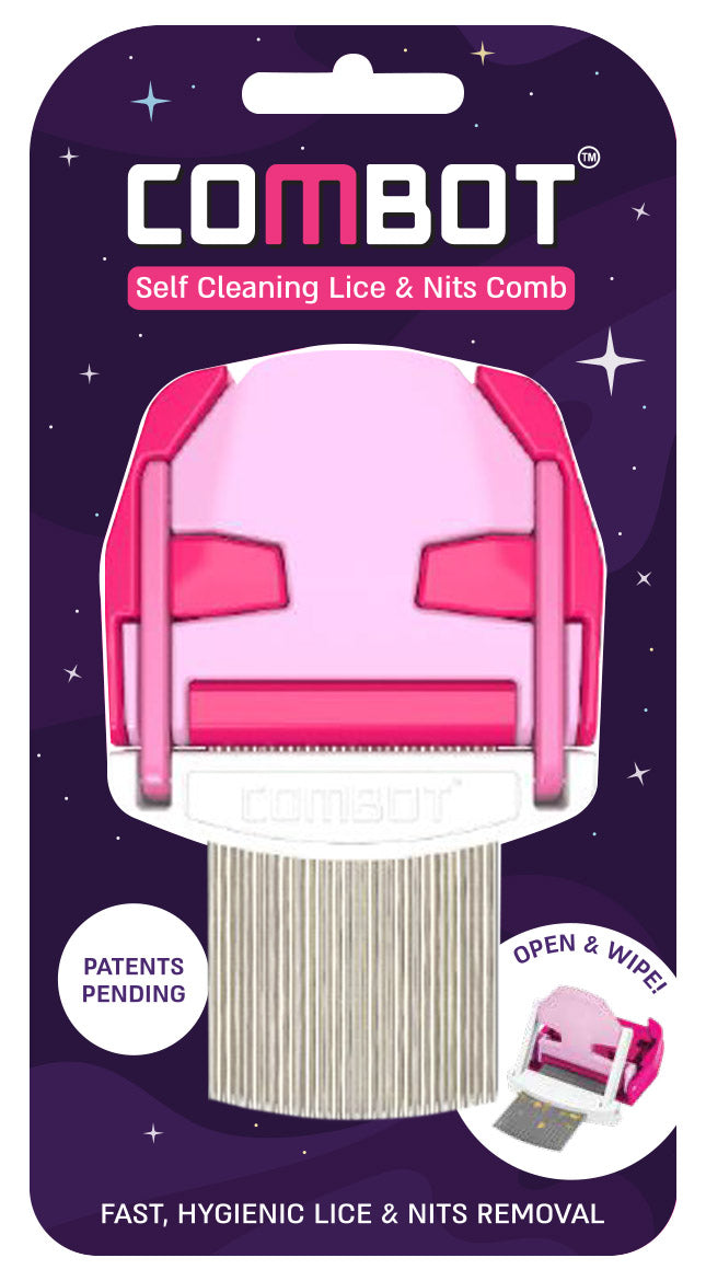 Lice Combot Comb Pink