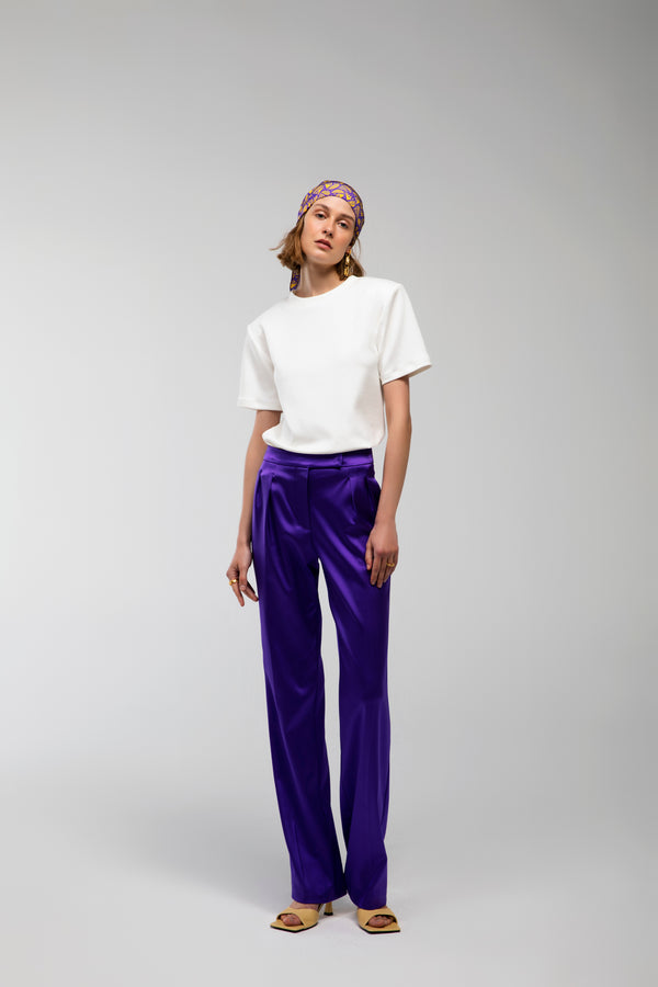 Savai - Double pleated trousers