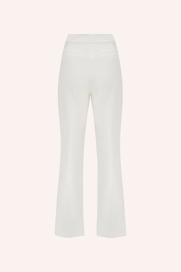 Isla - Double pleated trousers
