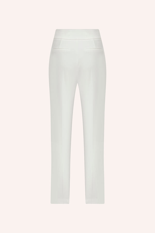 Opal - Pleated trousers