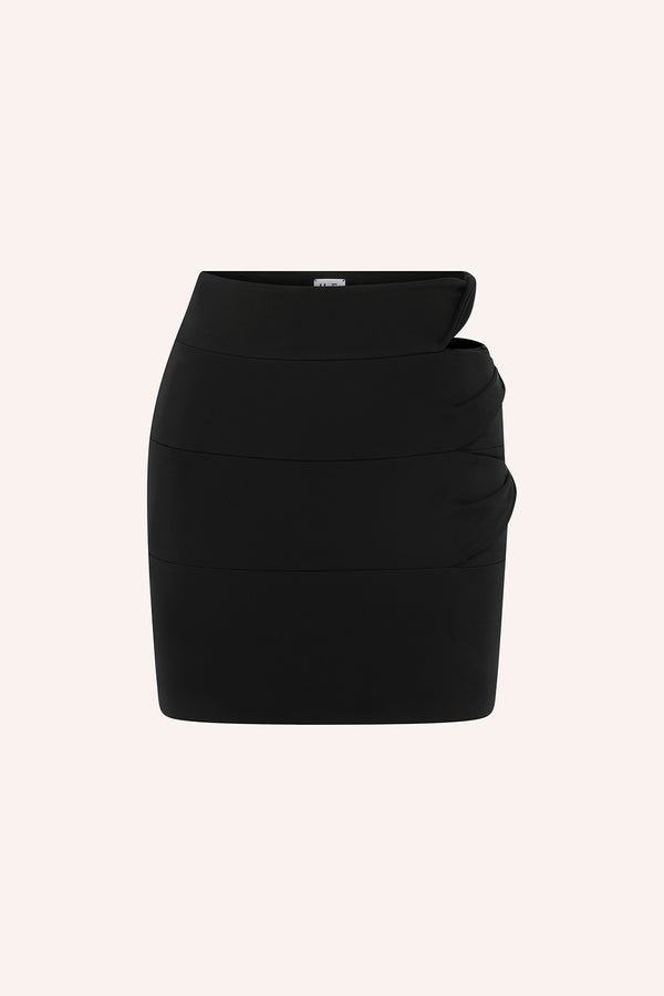 Matira - Mini skirt with side cut out