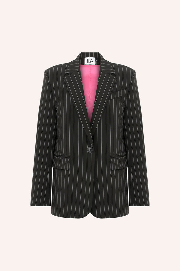 Marina - Oversize striped blazer