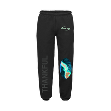 "Load image into Gallery viewer, ""NOT ALONE"" SWEATPANTS - BLACK/GLOW/REFLECTIVE"