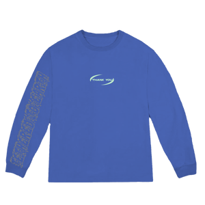 """NOT ALONE"" LONGSLEEVE T-SHIRT - BLUE/GLOW/REFLECTIVE"