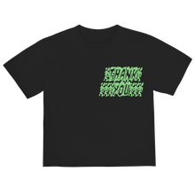 "Load image into Gallery viewer, ""NOT ALONE"" T-SHIRT - BLACK/GLOW/REFLECTIVE"