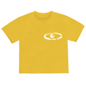 """2300 MILES"" T-SHIRT - YELLOW/REFLECTIVE"