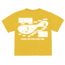 "Load image into Gallery viewer, ""2300 MILES"" T-SHIRT - YELLOW/REFLECTIVE"