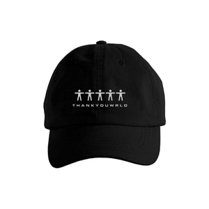 """CREW"" DAD HAT - BLACK"