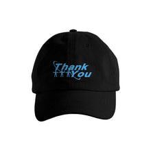 "Load image into Gallery viewer, ""HALO"" DAD HAT - BLACK/BLUE"