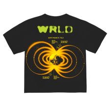 "Load image into Gallery viewer, ""GRAVITY"" T-SHIRT - BLACK/NEON"