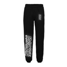 "Load image into Gallery viewer, ""FAMILIA"" SWEATPANTS - BLACK/3M"