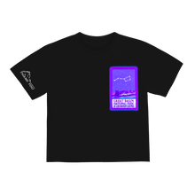 "Load image into Gallery viewer, ""GREAT BASIN"" T-SHIRT - BLACK/REFLECTIVE"