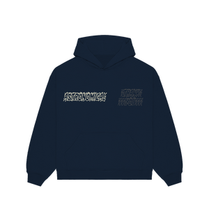 """TRUTH"" HOODIE - NAVY/OFF WHITE/REFLECTIVE"