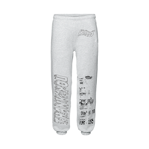 """PROGRAM"" SWEATPANTS - LIGHT HEATHER/REFLECTIVE"