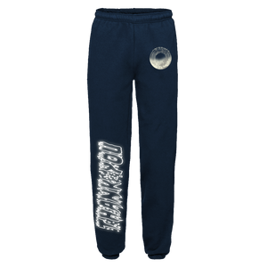 """TRUTH"" SWEATPANTS - NAVY/REFLECTIVE"