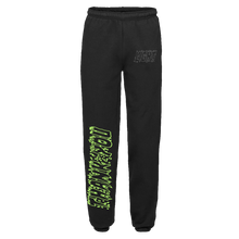 "Load image into Gallery viewer, ""LIGHT"" SWEATPANTS - BLACK/GLOW/REFLECTIVE"
