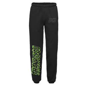 """LIGHT"" SWEATPANTS - BLACK/GLOW/REFLECTIVE"